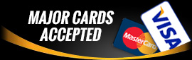 All Major Cards Accepted